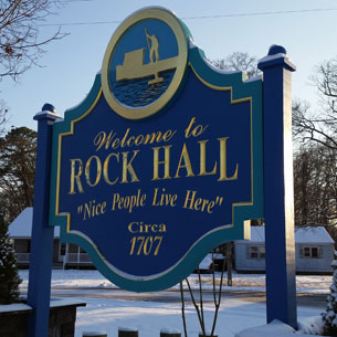 Nice People Live Here - Rock Hall Maryland